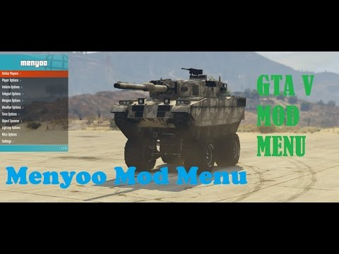 GTA V MENYOO MOD MENU PC | MONEY DROP