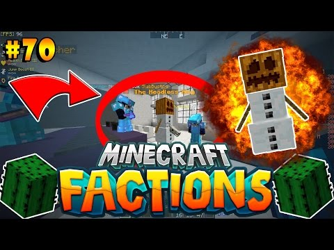 FIGHTING THE HEADLESS KING! | Minecraft: Cosmic PVP Factions #70