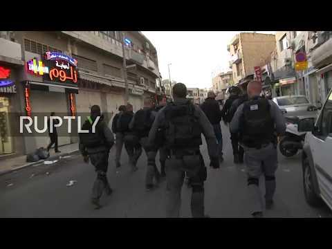 LIVE: Unrest in Jerusalem as Palestinians protest against Trump