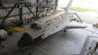 A Rare Glimpse Inside a Space Shuttle Endeavor