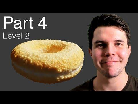 Part 4, Level 2: Procedural Displacement - Blender Beginner Tutorial