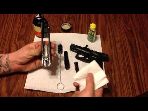 How to clean the Springfield XD