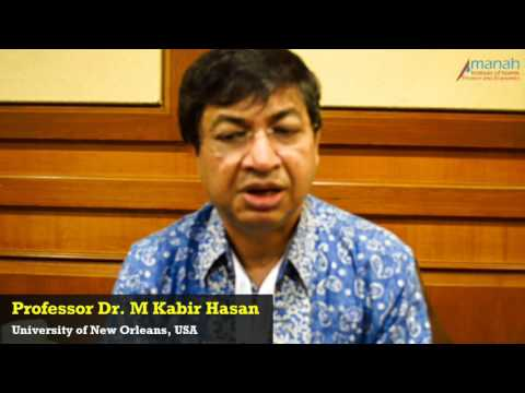 Prof. Dr. M. Kabir Hassan, University Of New Orleans USA