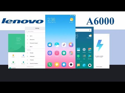 Install miui 9 on lenovo a6000/+ mobile