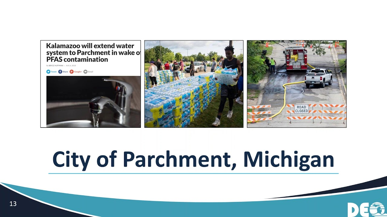 Challenges of PFAS in Groundwater: Lessons Learned from Michigan's Survey  of Community Water