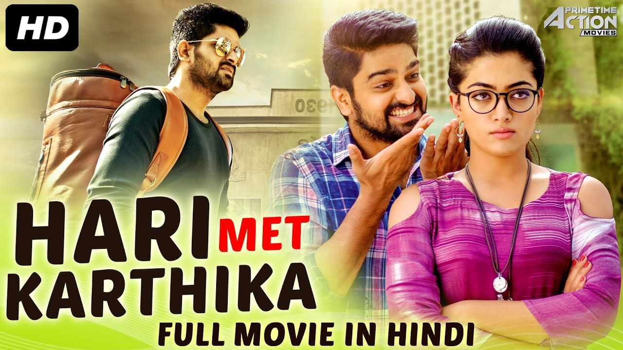HARI MET KARTHIKA - Hindi Dubbed Full Romantic Movie | Rashmika Mandanna Hindi Dubbed South Movie