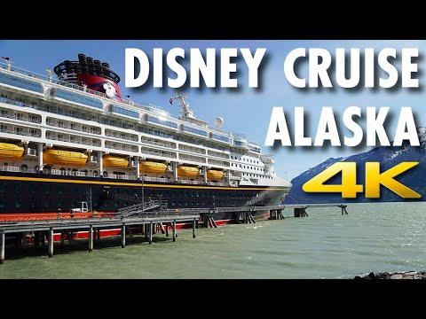 Disney Cruise In Alaska Review: Disney Wonder ~ Disney Cruise Line ~ Cruise Review [4K Ultra HD]