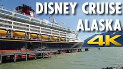 Disney Cruise in Alaska Review: Disney Wonder ~ Disney Cruise Line ~ Cruise Review [4K Ultra HD]