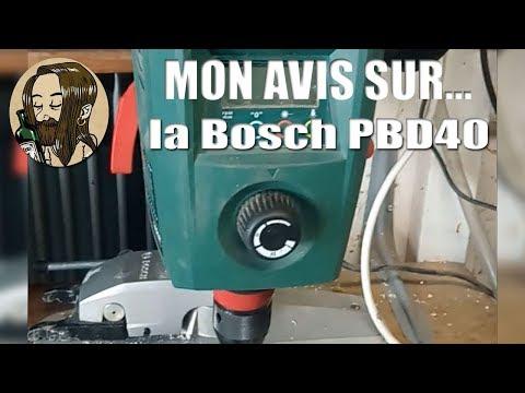 Repeat Perceuse A Colonne Bosch Pbd 40 Bench Pillar Drill