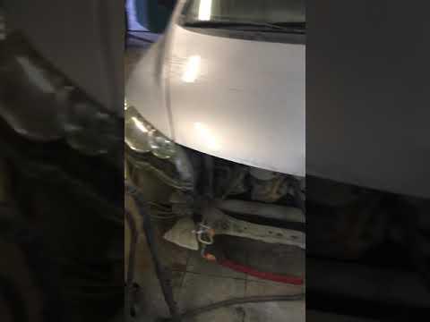 Рихтовка капота цивик Хонда