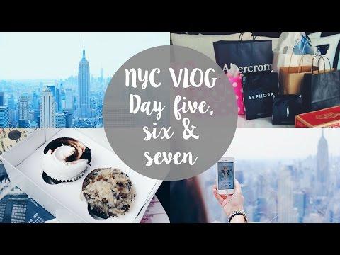 NYC VLOG I Day 5, 6 & 7 I Dizzybrunette3