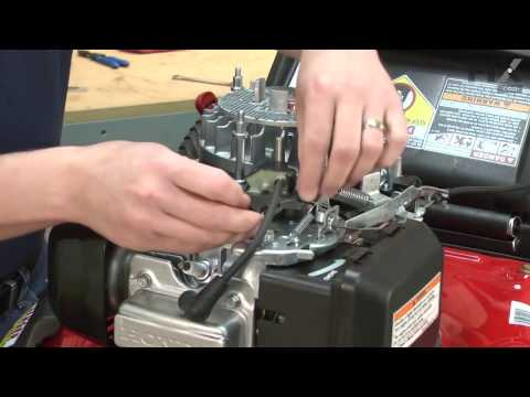 Troy-Bilt Lawn Mower Repair – How to replace the Ignition