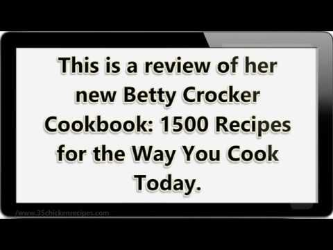Betty Crocker Cookbook Review: Find 1500 Recipes to Change the Way You Cook Today - YouTube