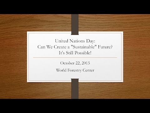 United Nations Day: Creating a Sustainable Future Together