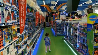 Little Mia Is Shopping In Toy Shop In The Mall Of The Emirates Dubai.