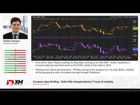 Forex News: 30/11/2018 - Dollar little changed ahead of Trump-Xi meeting