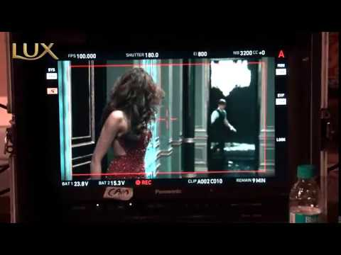 Lux ad making with Deepika Padukone