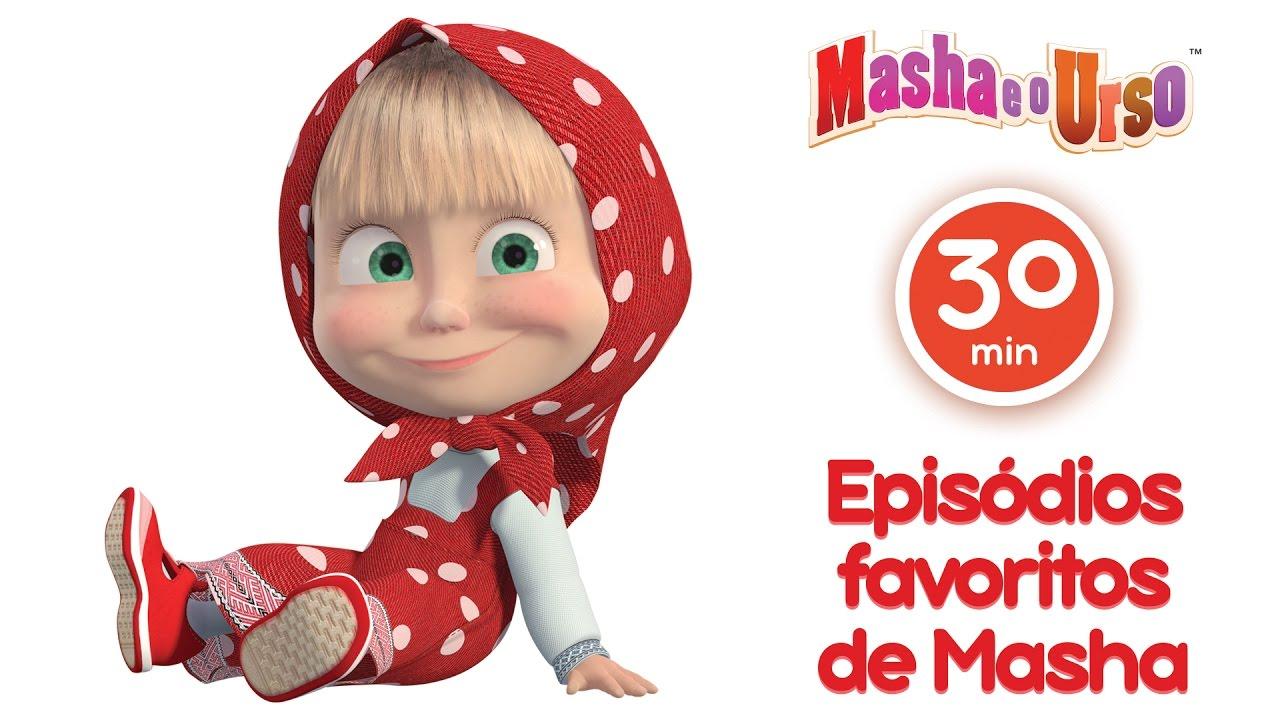 Masha e o Urso- Episódios favoritos de Masha (Melhor compilação de desenhos animados para  filhos) #1