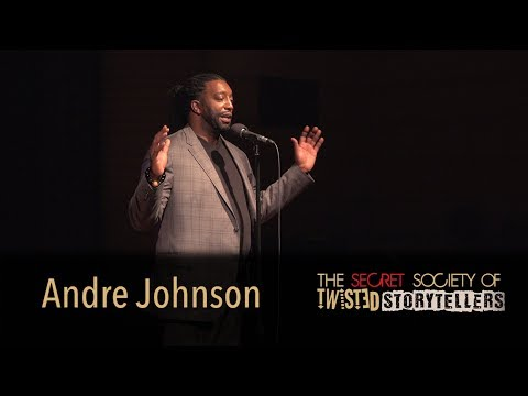 "The Secret Society Of Twisted Storytellers - ""SOUL FOOD!"" - Andre Johnson"