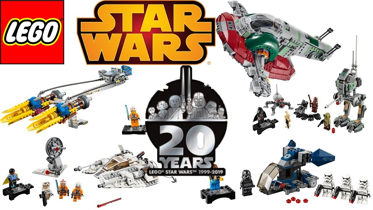 20th Anniversary Lego Star Wars Sets Are Awesome April 2019 Youtube