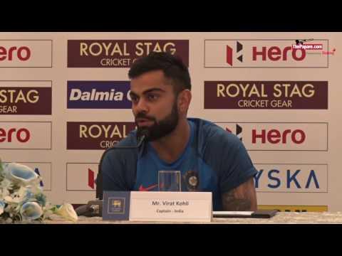 Virat Kohli loves scoring runs against Sri Lanka