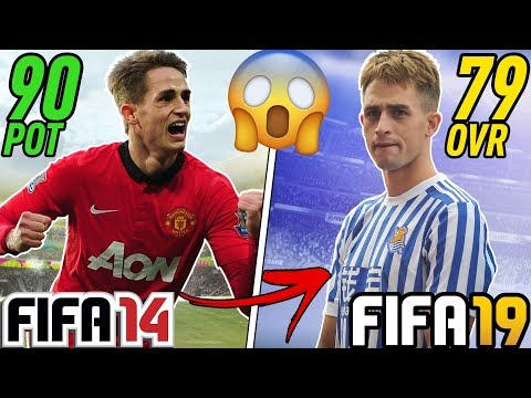 FIFA 14's BEST WONDERKIDS IN FIFA 19 Career Mode!!! (5 Years Later)