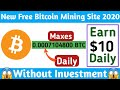New Fast Free Bitcoin Mining Site  100 Gh/s Free Signup Bonus  Everyday Free Bitcoin