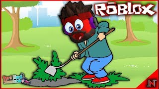 ROBLOX Indonesia #149 Yard Work Simulator | So gardener make buy bags and hoe