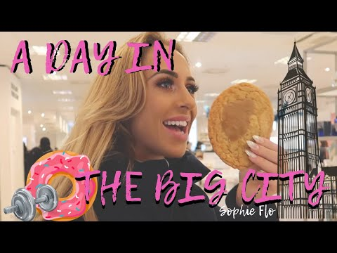 A DAY IN LONDON! CHEAT DAY/ TRAINING