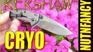 """Kershaw 1555 Cryo: The Next Tenacious?"" by Nutnfancy"
