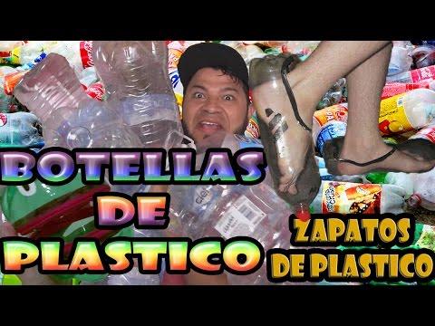 Plastico Botellas Unos De Hacer PlásticoComo Que Zapatos Las Botella Con IYeWE29DH
