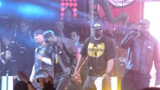 The Wu-Tang clan performs live at Coachella 2013.