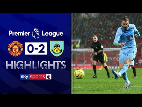 Jay Rodriguez stunner causes upset at Old Trafford | Man Utd 0-2 Burnley | Premier League Highlights