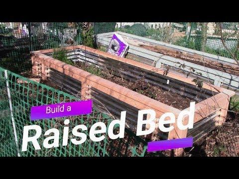Zone 8, Raised bed Build Galvanized