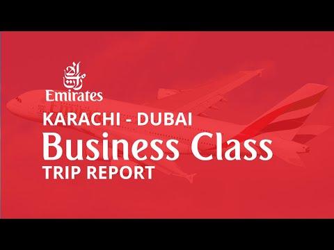 Trip Report | Emirates Business Class | KHI-DXB | Boeing 777