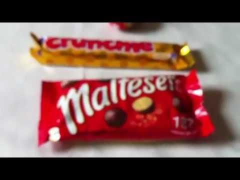 Soothing Whisper 61: British Sweets (Warning: Crinkle and Crunch alert)