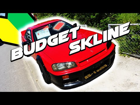 Budget R34 Nissan Skyline Drift Missile for Sale in Japan | Yes It's BOOSTED