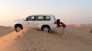 Safari in Dubai Desert - Car Stuck into Sand Dune - Part I