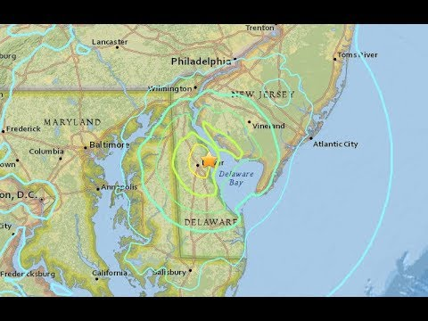 4.4 Earthquake Hits Delaware - LIVE BREAKING NEWS COVERAGE