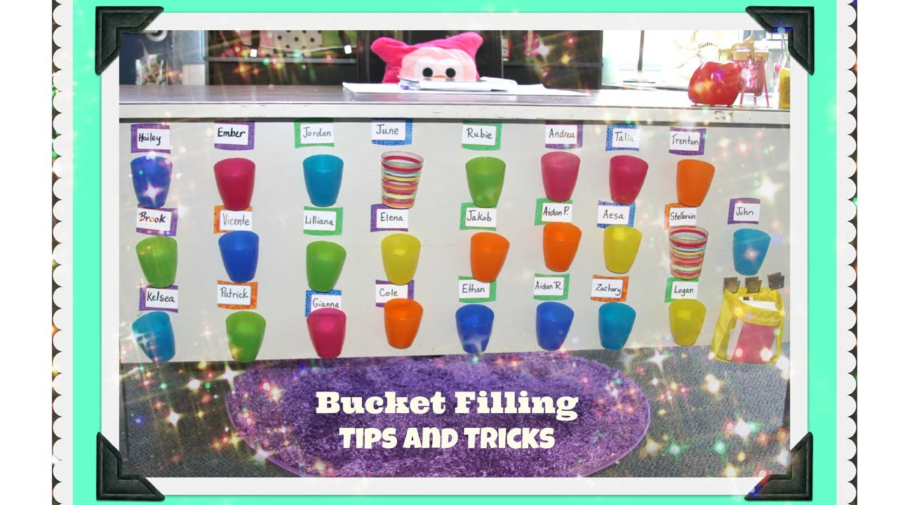 A Teacher's Guide To Bucket Filling - YouTube