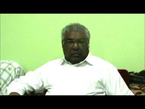 Shri. S. Shafi Ahmed , Part 1 (Ex MLA Tumakuru & DCC President)