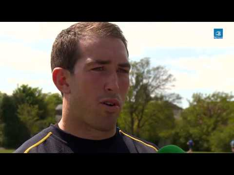 LTV: Leinster Pitchside Briefing Andrew Goodman Interview