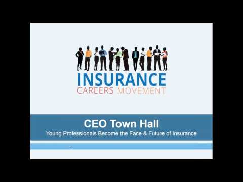 Insurance Careers Movement  CEO Town Hall for Young Professionals