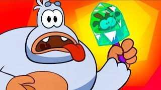 Om Nom Stories - Super-Noms meet Bigfoot (Cut the Rope) Kedoo ToonsTV