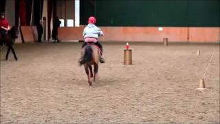 Sophie & Buster Larsen, træning 8 - 11 - 12