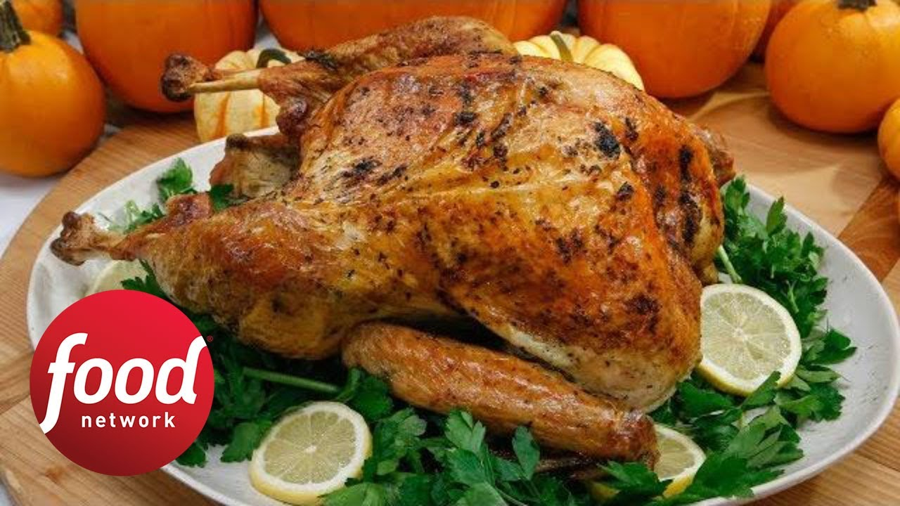 Lemon and herb roasted turkey food network youtube lemon and herb roasted turkey food network forumfinder Choice Image
