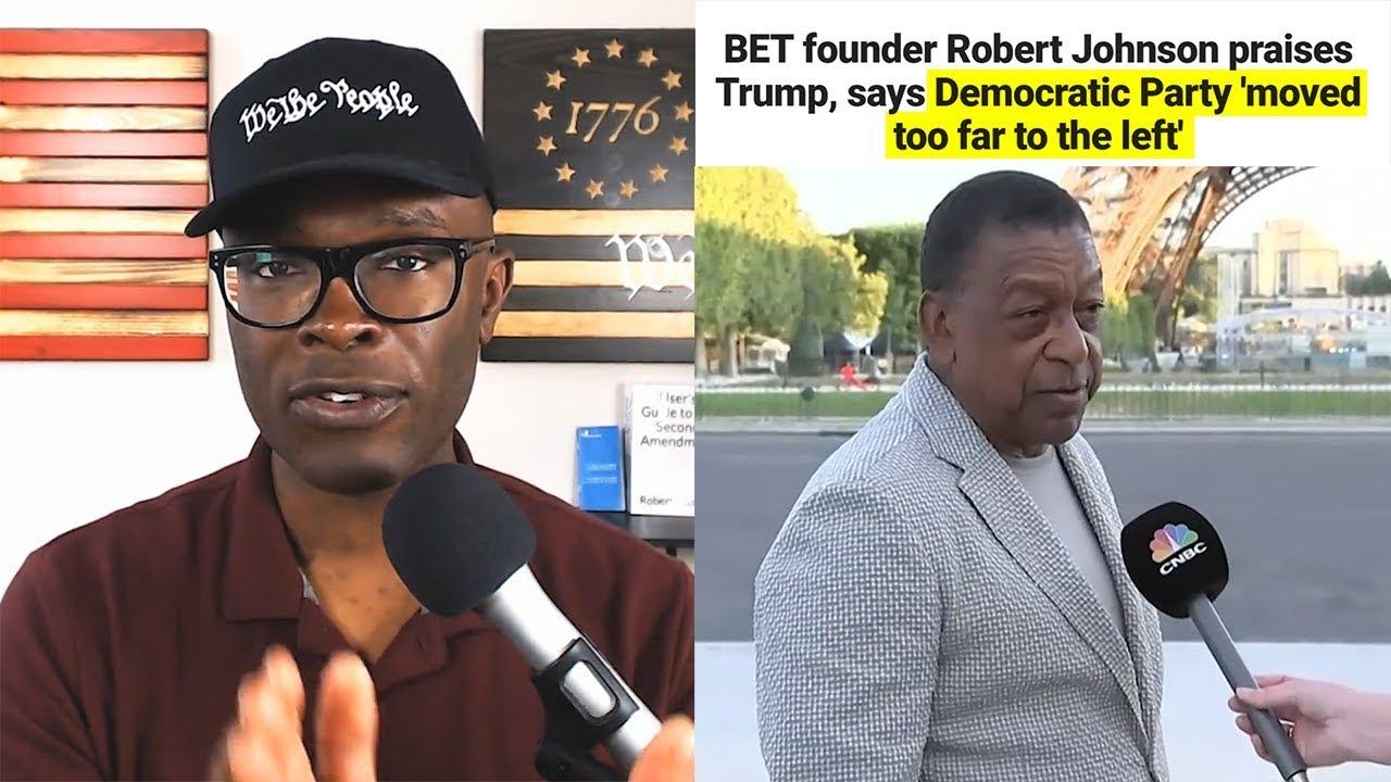 Anthony Brian Logan BET Founder Bob Johnson Says Democrats Have Gone TOO FAR LEFT!