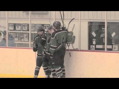 Proctor Boys Hockey Comeback vs Groton School 1-20-16