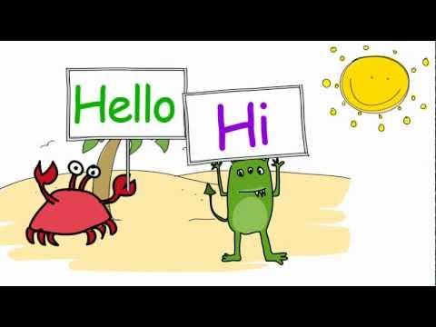 Hello Song. Dave Moran - Kids Songs