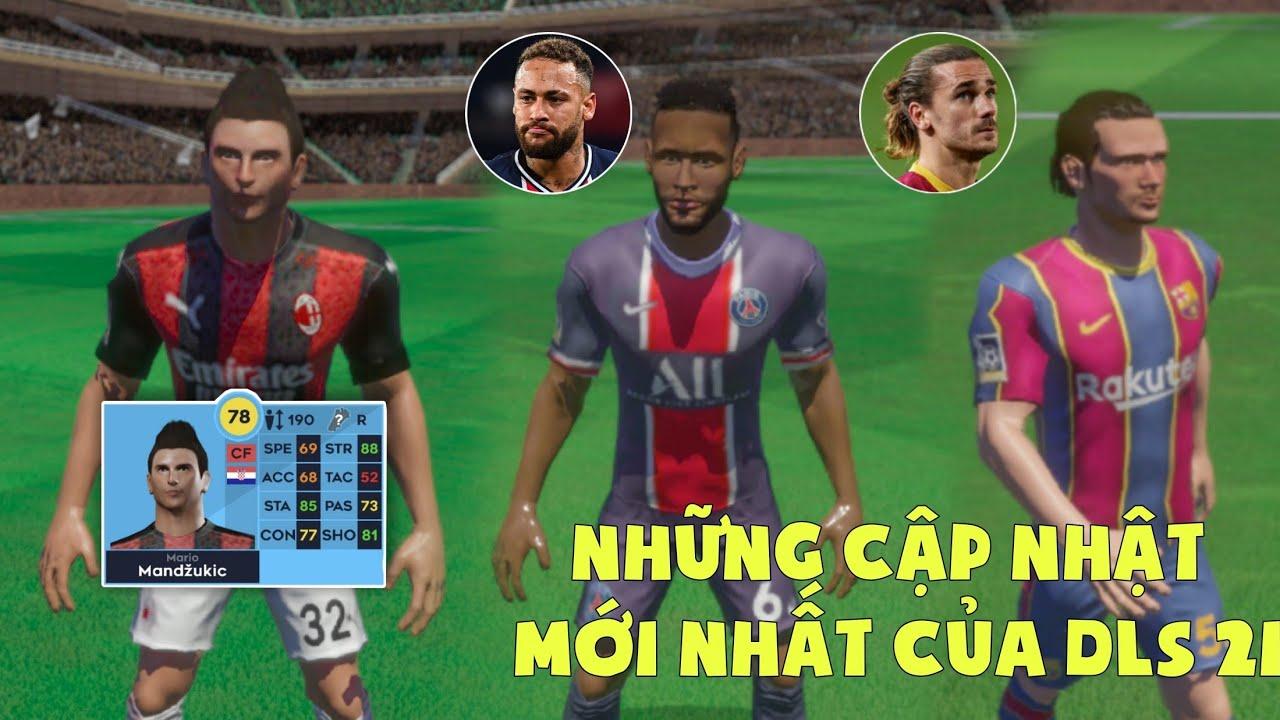 Cầu thủ mới xuất hiện và những cải tiến cực hay trong Dream League Soccer 2021